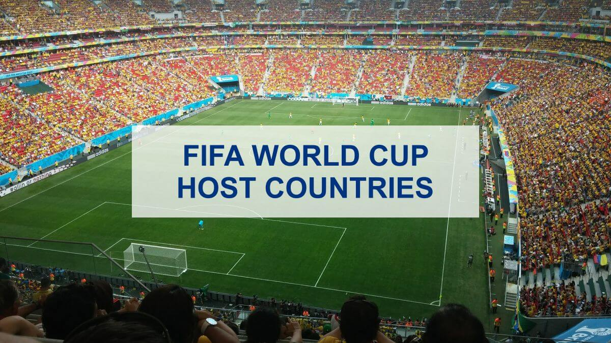 Fifa World Cup Host Countries Complete List Dummysports