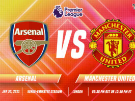 Arsenal vs Manchester United Start time and Venue