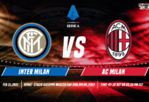 AC Milan vs Inter Milan time, date and venue