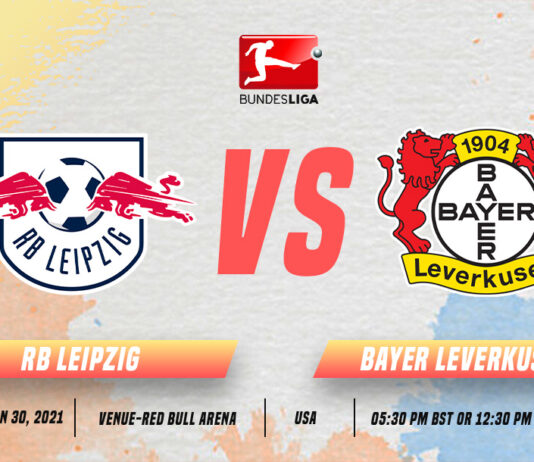 RB Leipzig vs Bayer Leverkusen Start time and Venue