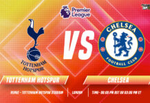 Tottenham vs Chelsea Start time and Venue