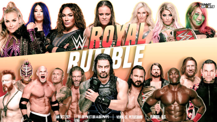 WWE Royal Rumble 2021 Start Time, Date and Venue