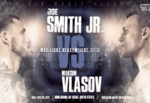 Joe Smith Jr. vs Maksim Vlasov time, date and venue