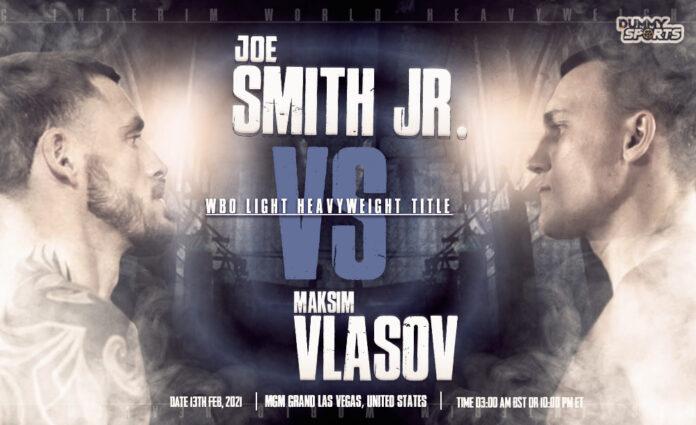 Joe Smith Jr. vs Maksim Vlasov time, date and venue