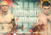 Diaz vs Rakhimov time, date and venue