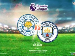 Leicester City vs Manchester City time, date and venue